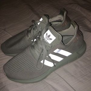Adidas mint sneakers
